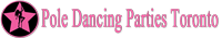 Pole Dancing Parties In Toronto Logo